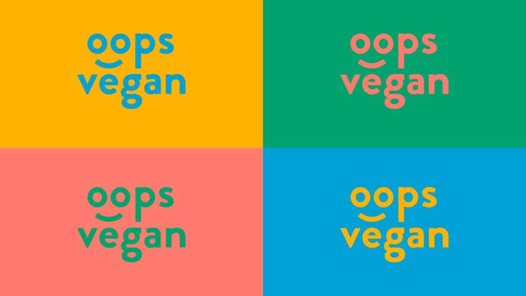 Imagen corporativa Oops Vegan